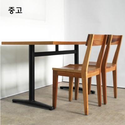 원목 의자 테이블 세트