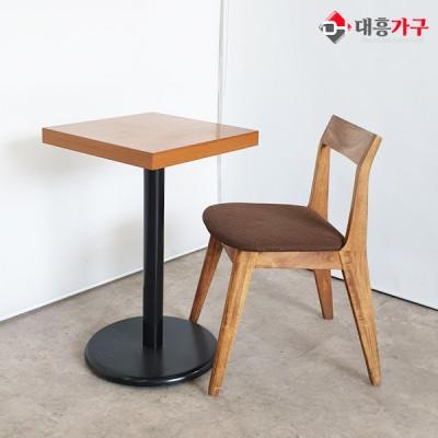 목재의자 2인테이블 세트